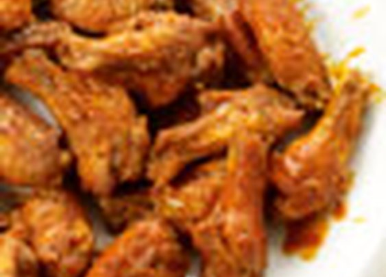 Crispy Baked Chicken Wings: Recipe: bonappetit.com