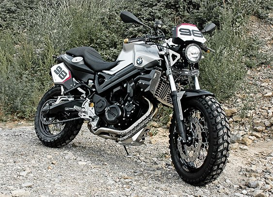 BMW Touratech Streetline F 800 ScrambleR