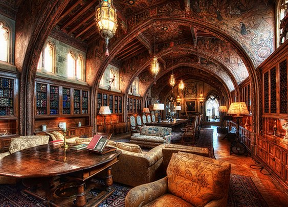 The Libraries of 15 Famous Men | The Art of Manliness