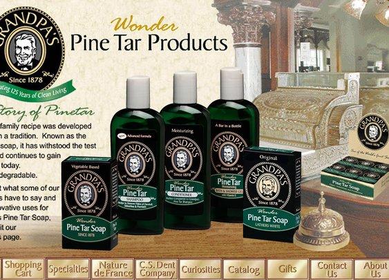 Grandpa Brands Pine Tar Soap