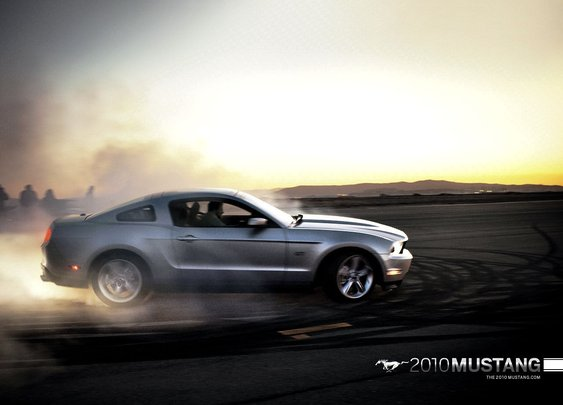 Ford Mustang 2010 Wallpaper 1280x1024
