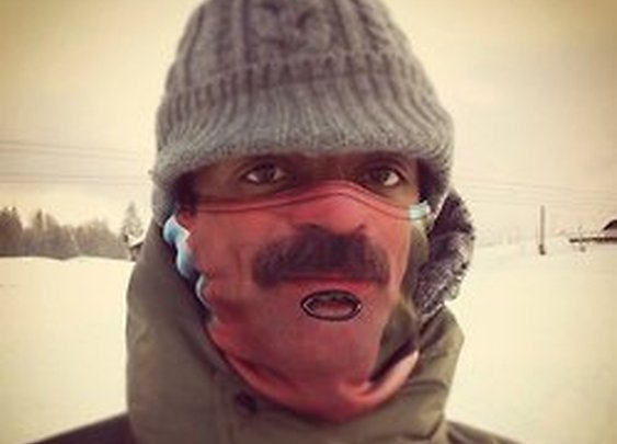 Its a Dads Life, Tom Selleck Warm Face Cover (via Fancy)