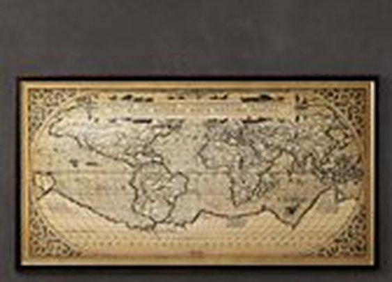 1588 World Map | Maps | Restoration Hardware