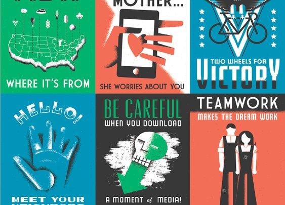 young jerks - GOOD Magazine illustrations