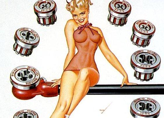 The Petty Girls of Ridge Tool, 1953 | Retronaut