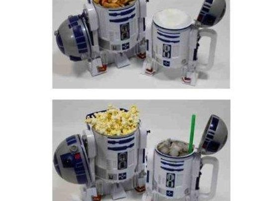 R2-D2 now carries popcorn and drinks » Coolest Gadgets
