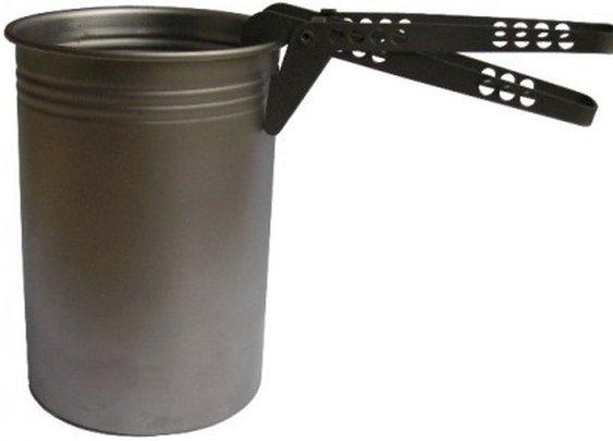 Vargo's Titanium BOT combines cooking pot and water bottle