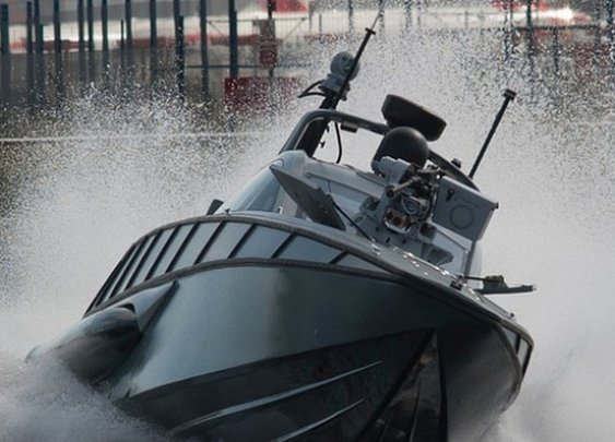 Fight pirates at 100mph in the XSR Interceptor (16 Photos)
