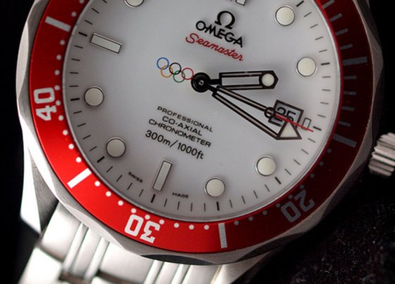 Omega Seamaster Vancouver 2010 Olympic Edition