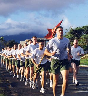 Take the Marine Corps Fitness Test
