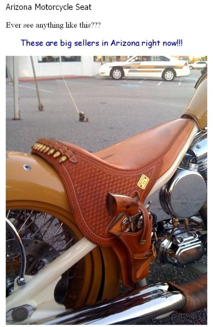 B.A. Motorcycle seat