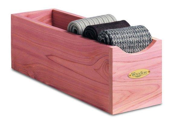 Woodlore Cedar Socks Box