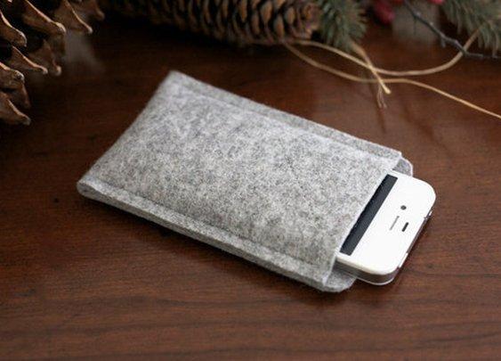 Organic Wool iPhone 4/4s Oxford Sleeve