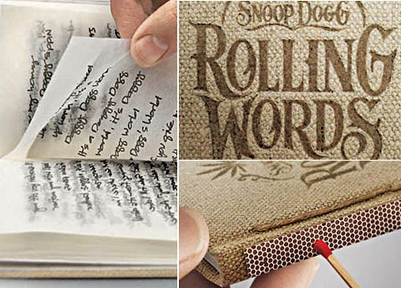 Rolling Words: Snoop Dogg's Smokable Book | Headlines & Heroes