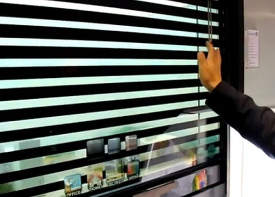 Samsung's Transparent Digital Window, See The Outside While Surfing The Web - DesignTAXI.com