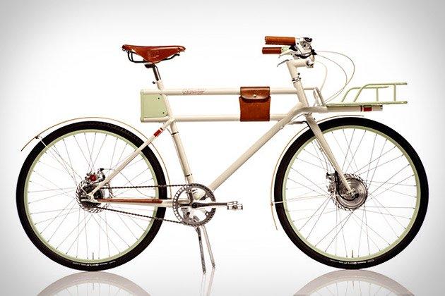 Faraday Porteur Bike   Uncrate