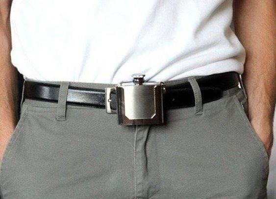 Flask Belt - Dudepins