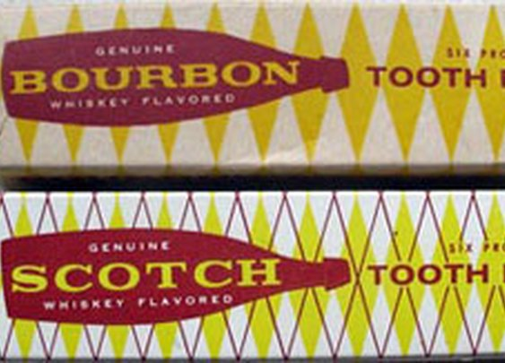 Bourbon and Scotch toothpaste
