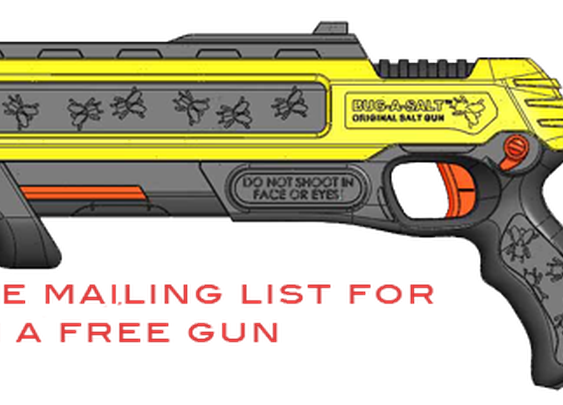 BUG-A-SALT: The Original Salt Gun