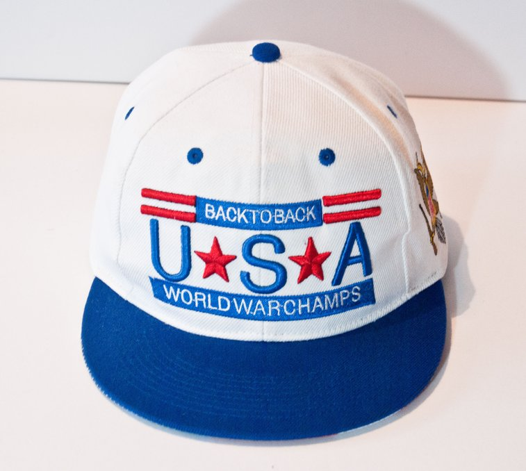 e2aa37e6036 Back to Back World War Champs Snapback Hat