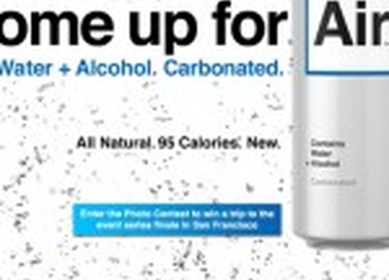 Introducing New Air, Alcoholic Water in a Can  |  Foodbeast