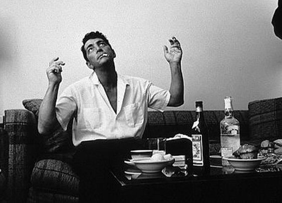 Dean Martin and Frank Sinatra make hamburgers | Decadent Lifestyle