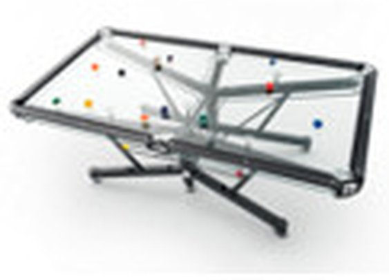 Pool tables, Billiard tables, Glass Top Pool Table | Nottage Design