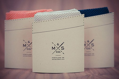 MS & Co. Silk Knit Pocket Squares | Uncrate