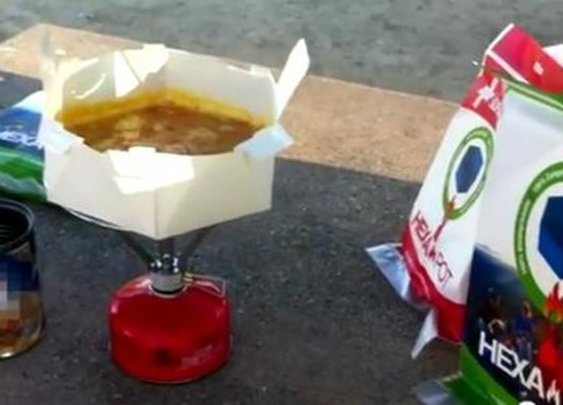 Cooking in paper? Energia pots fold like origami