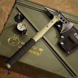 ThinkGeek :: M48 Kommando Ranger Hawk Axe With Compass
