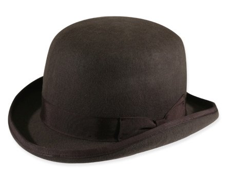 Tall Derby - Charcoal Wool (Limited Availability)