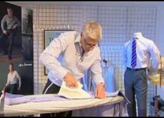 TM Lewin How To Iron A Shirt      - YouTube