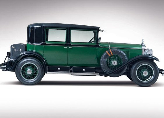 Al Capone's Cadillac V8 set for auction - Autoweek