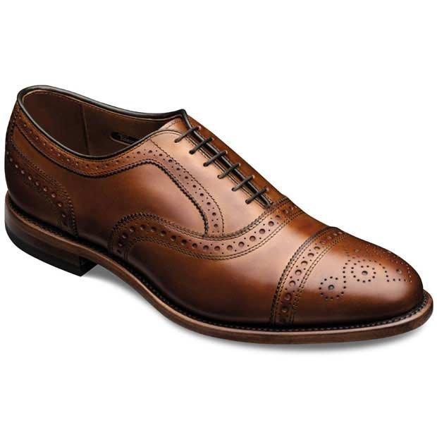 Strand - Cap-toe Lace-up Mens Dress Shoes by Allen Edmonds