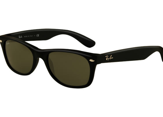 Ray-Ban New Wayfarer Sunglasses - Matte Black