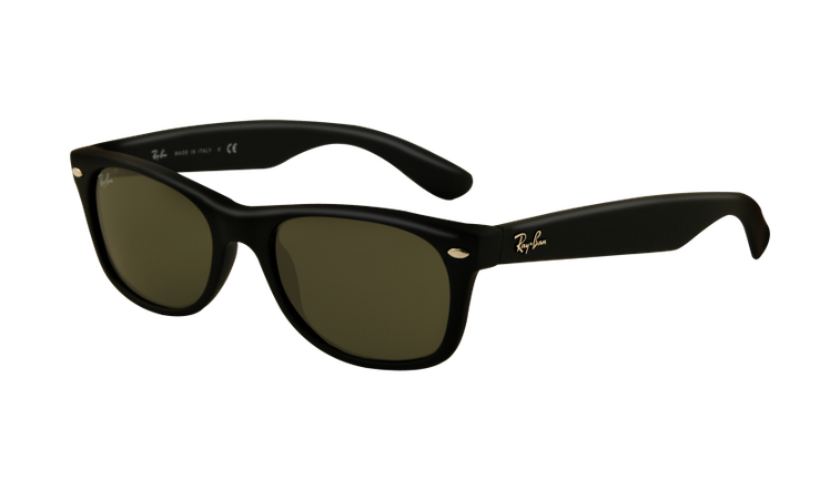 Ray-Ban New Wayfarer Sunglasses - Matte Black