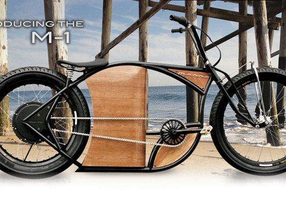 An Electric Bike That Looks Like a Harley