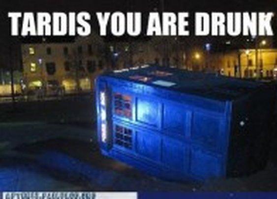 Drunk TARDIS « SciFi TAKEOVER