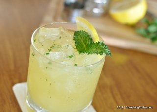 Lemon? Mint? Booze?