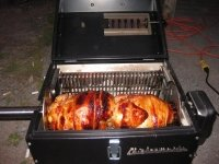 Lunch Box Charcoal Rotisserie Grill