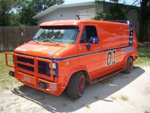 Dukes of Hazzard A-Team Van!?!