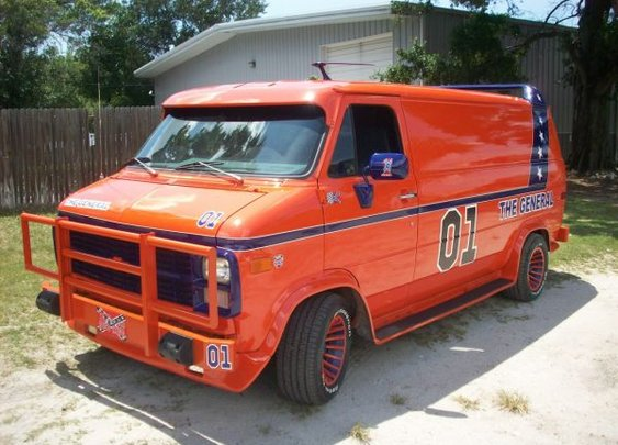 Dukes of Hazzard A-Team Van!?!