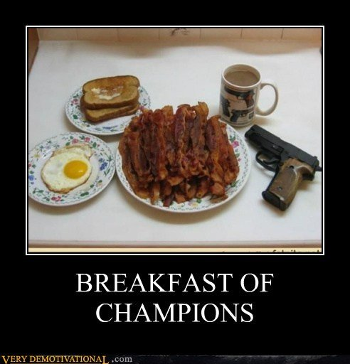 Bacon and guns
