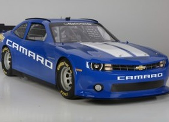 Chevrolet Unveils New Camaro Race Car