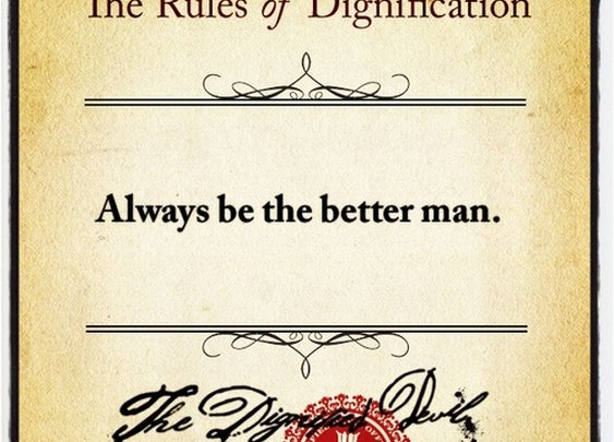 The Rules of Dignification  - Seventy Seven