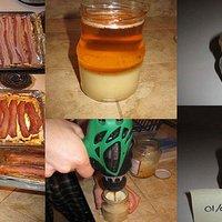DIY Bacon Fat Candle