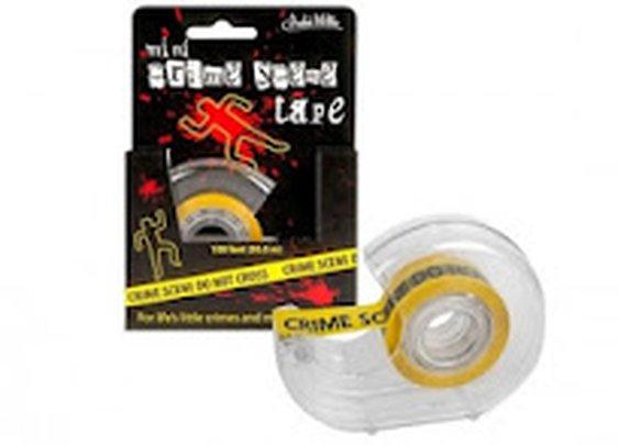 Crime scene tape... tape
