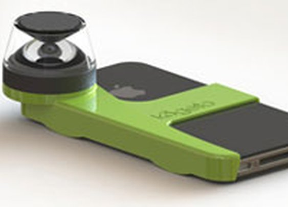 Amazon.com: Kogeto Panoramic Accessory for iPhone 4 - Black: Cell Phones & Accessories