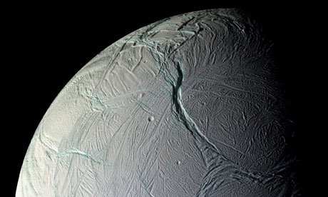 Enceladus: home of alien lifeforms?