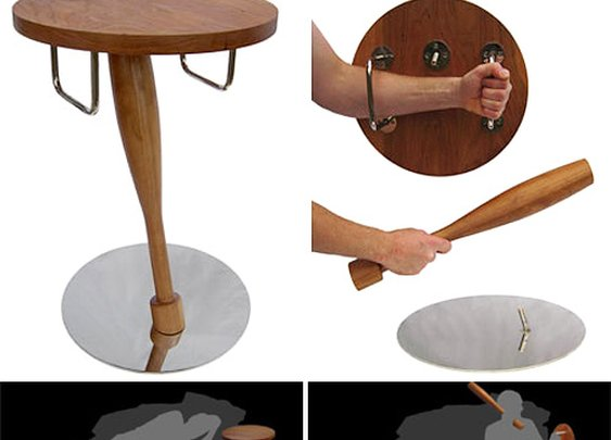 Safe Bedside Table Great For Peace Of Mind And Occasional Overnight Beatings | OhGizmo!